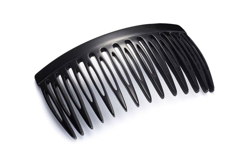 Midsize London Hair Comb made of Rhodoïd
