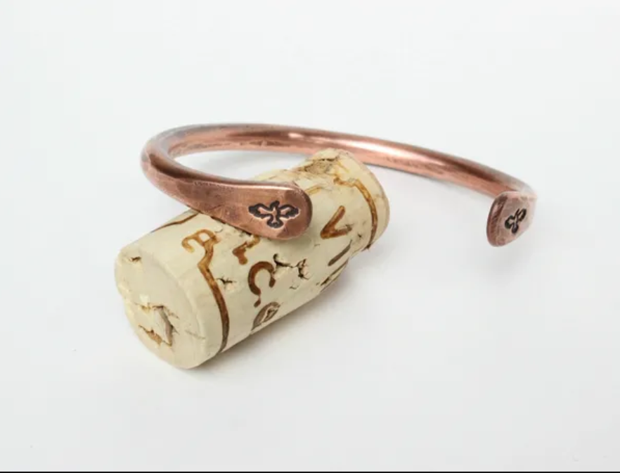 Hawk Copper Cuff