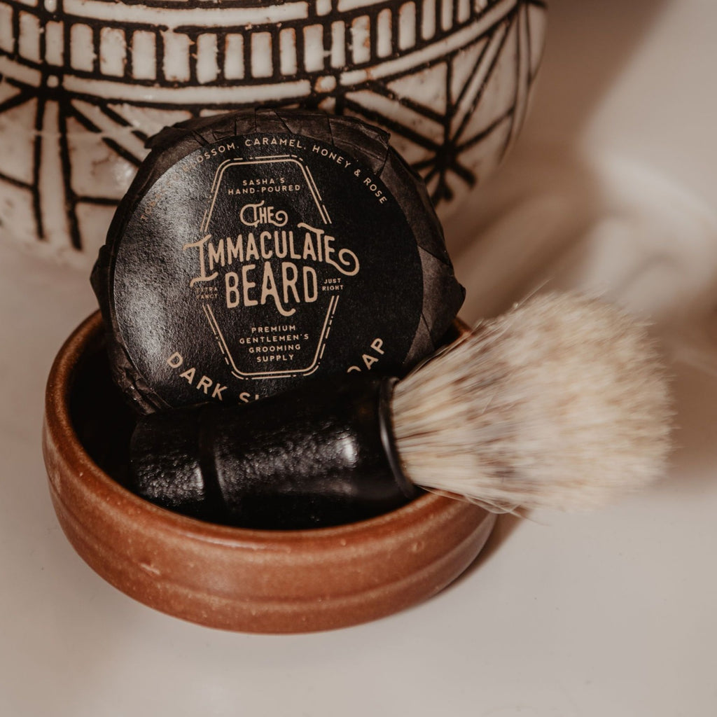 Immaculate Beard Shave Brush
