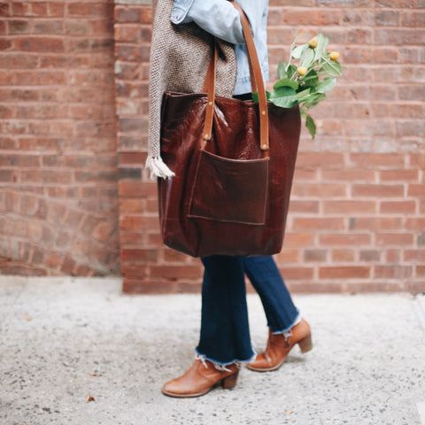 Leather Classic Tote