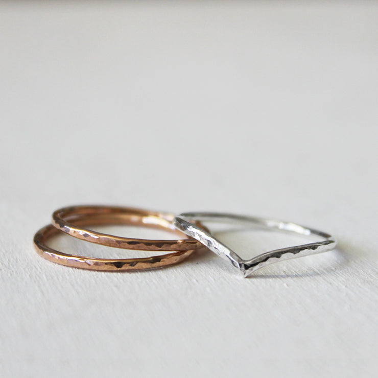 Ivy & Gold Stackable Rings