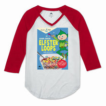 Elfster Loops Women's Raglan 3/4 Sleeve