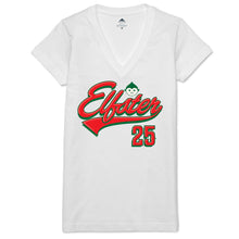 Team Elfster Women's V-neck Tee