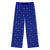 Elf Flakes Women's Pajamas in Blue
