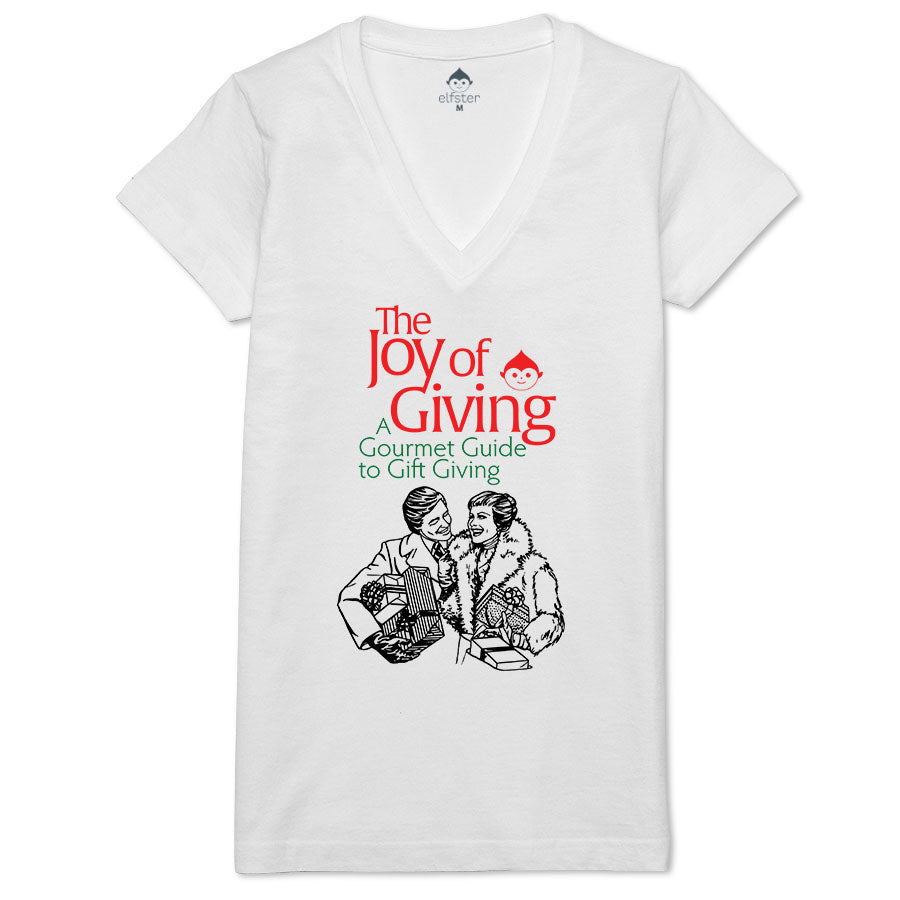 Joy of Giving Women's V-neck Tee