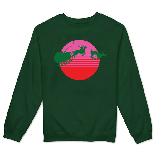 CA Christmas Women's Crewneck Fleece