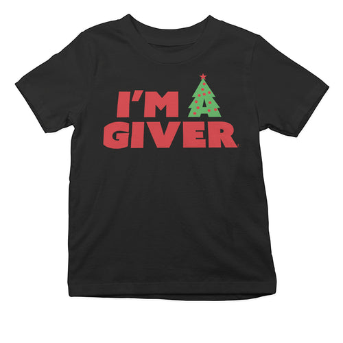 I'm A Giver Toddler Tee