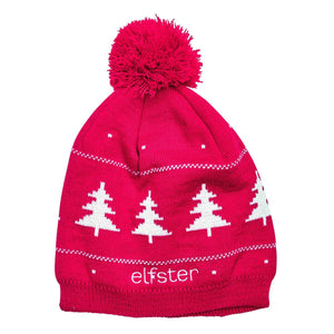 Ugly Christmas Sweater Beanie in Red