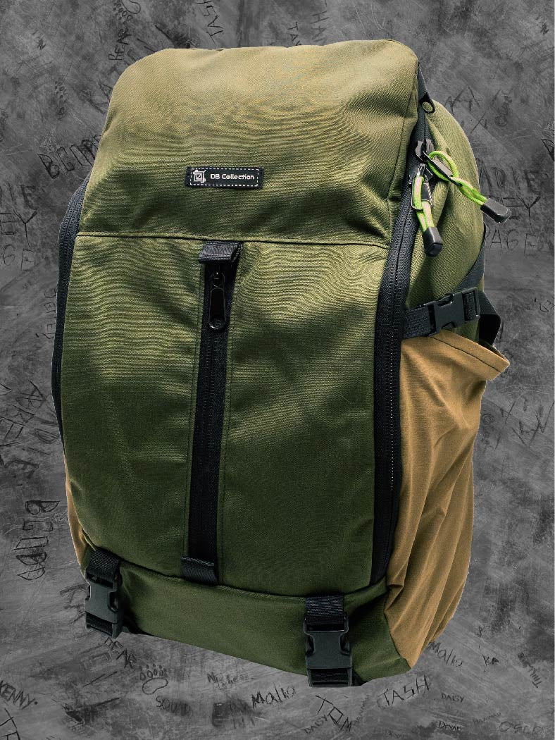 EDC Commuter Pack - Olive drab/Coyote tan