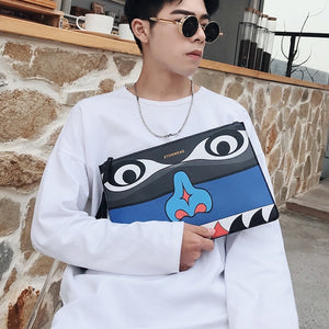 3D Luxury High Quality Leather Clutch Bag - i-Deals Store