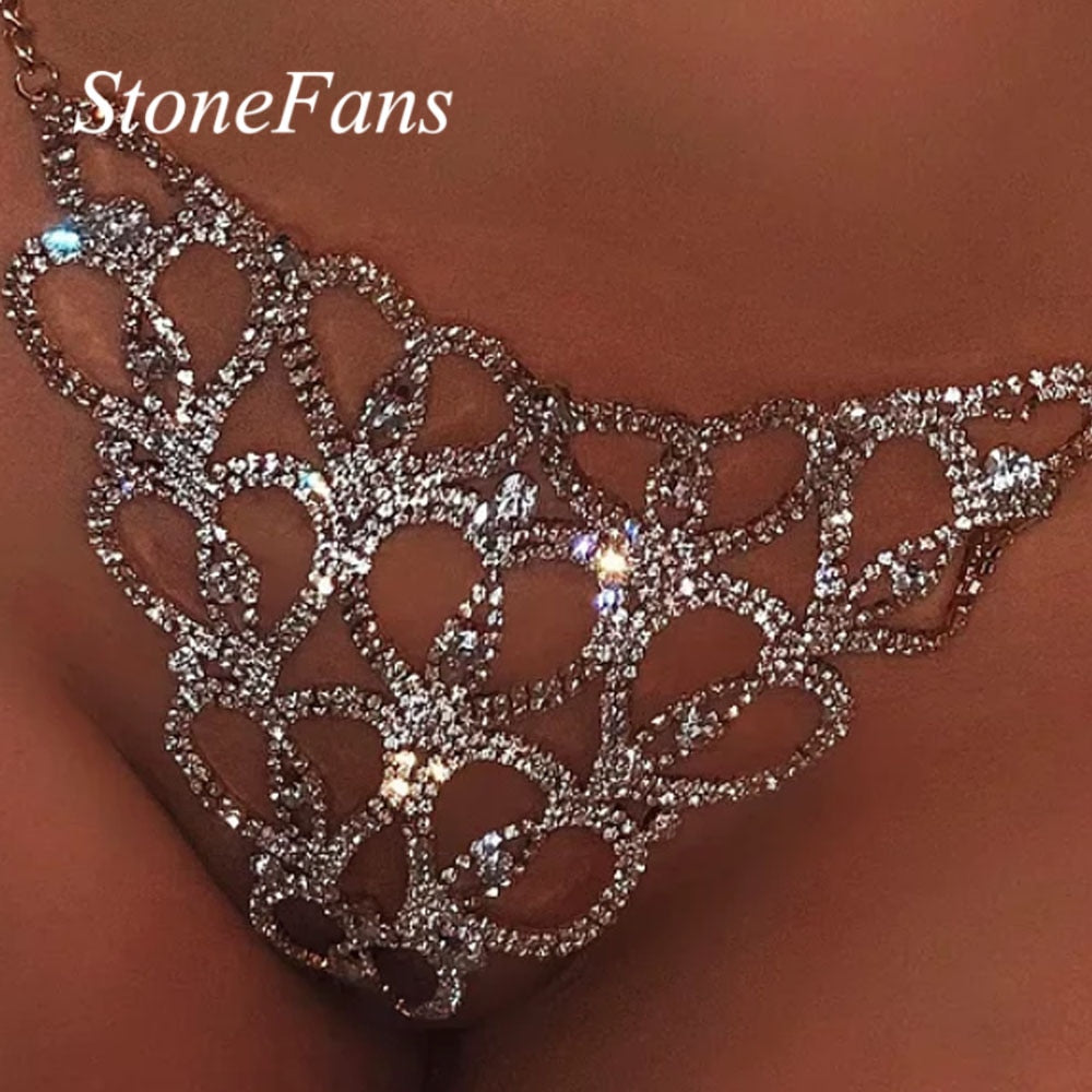 Rhinestone Thong Jewelry for Women - i-Deals Store