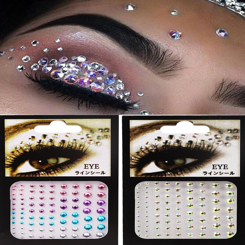 3D Face Diamond Makeup Decorative Stickers - i-Deals Store