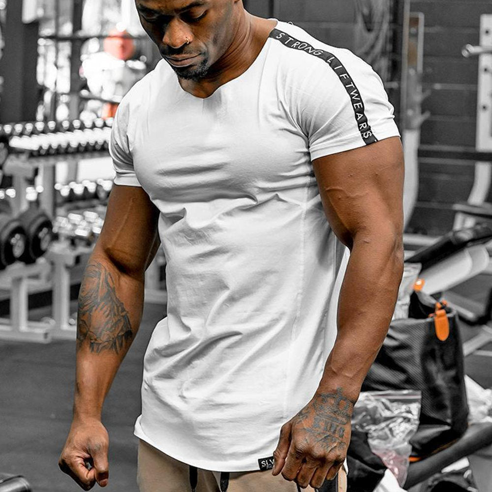 Gyms Fitness Slim T-shirt - i-Deals Store