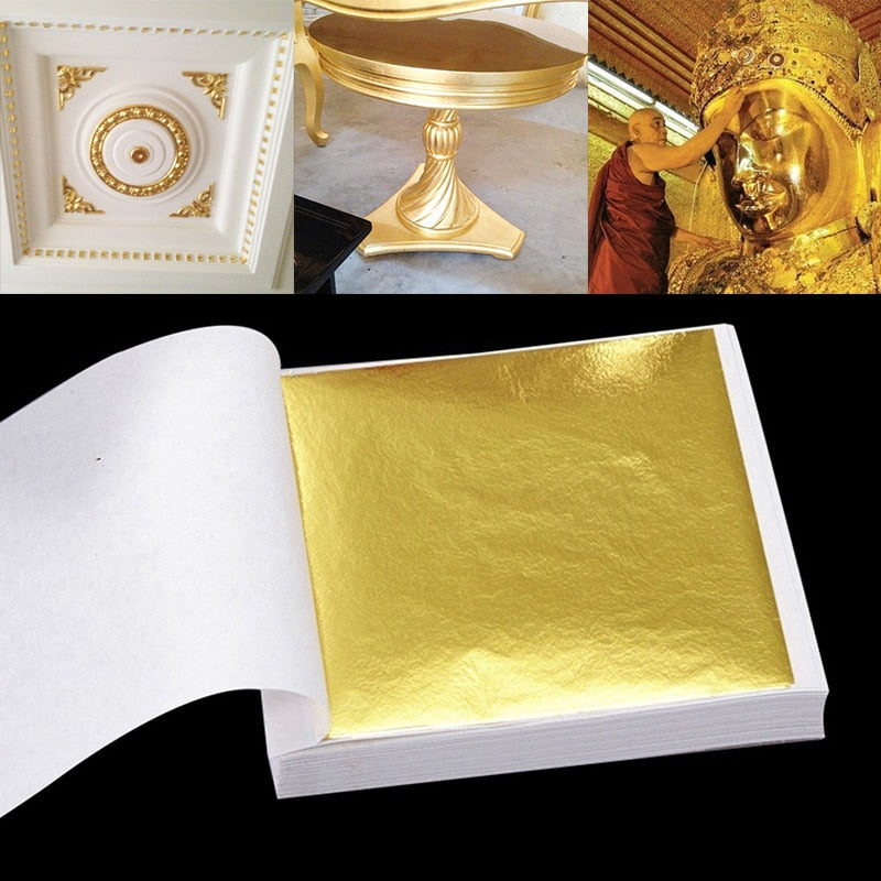 100pcs Gold Foil Decor - i-Deals Store