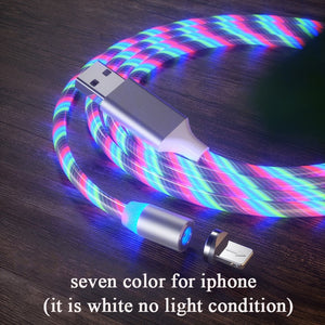 Magnetic Flowing Light LED Charging Cable - i-Deals Store