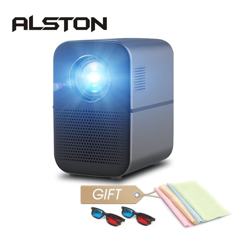 ALSTON M6 Full HD Led Projector 4000 Lumens - i-Deals Store
