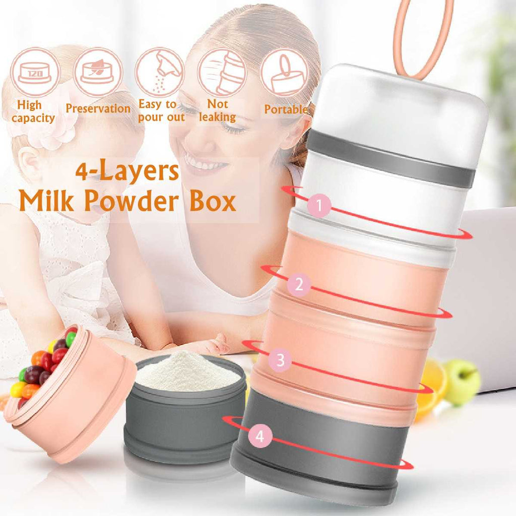 4 Layer Detachable Baby Food Storage Box - i-Deals Store