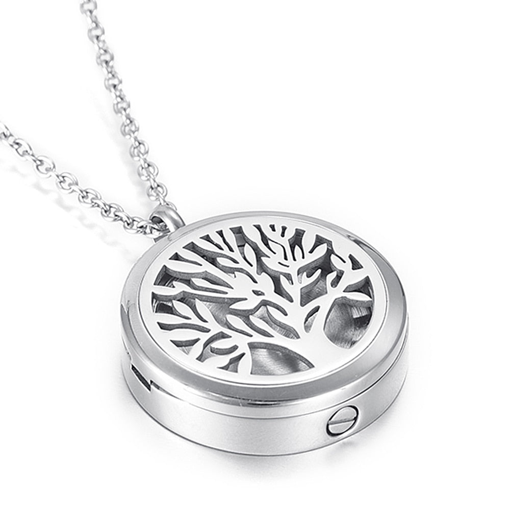 Cremation Urn Pendant Necklace For Ashes - i-Deals Store