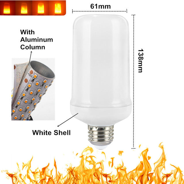 LED flame effect light bulb - i-Deals Store
