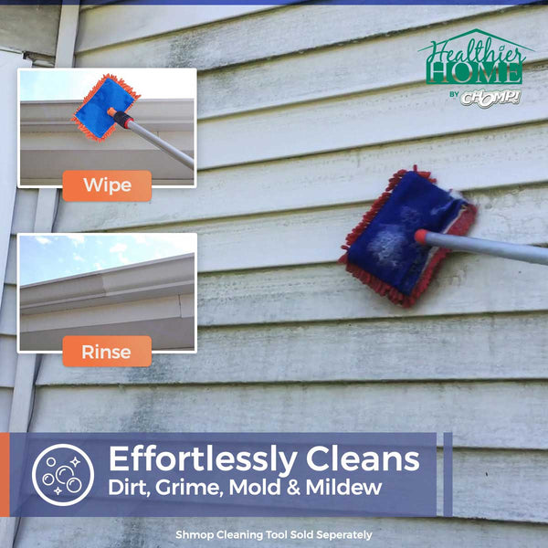 Gutter & Siding Cleaner - cleans dirt, grime, mold, and mildew