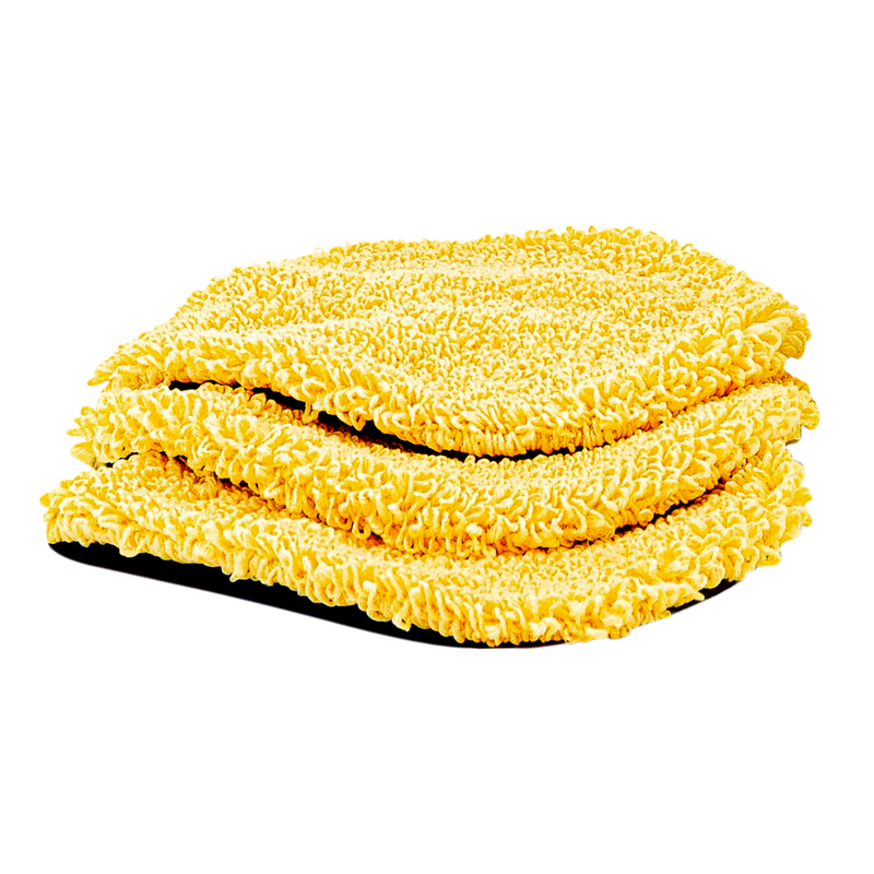 5 Minute CleanWalls Mop Replacement Mitt (3 Pack)