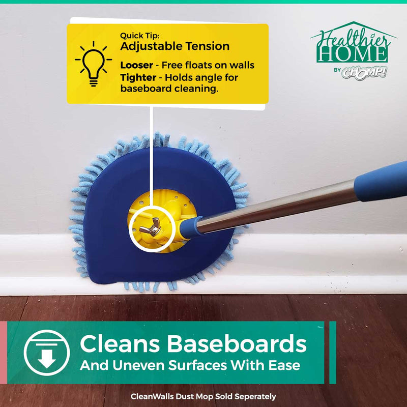 clean baseboards with these amazing cleaning mitts