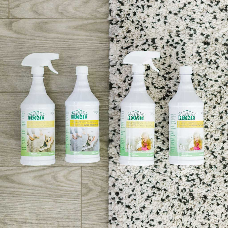 pet clean floors bundle with 4 products
