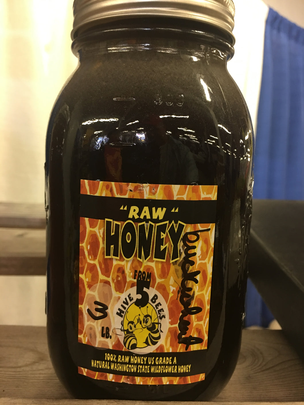 RAW WA Buckwheat Honey