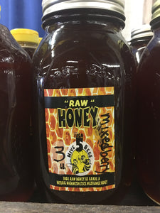Raw WA Mixed Berry Blossom Honey