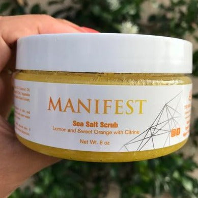 Manifest Sea Salt Scrub