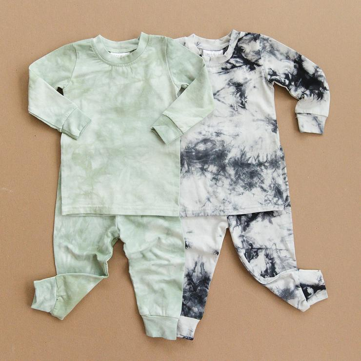 Tie Dye Cotton Two-piece Cozy Set