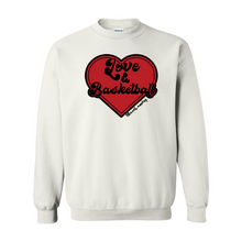 Load image into Gallery viewer, Love & Basketball | Adult Crewneck Sweatshirt
