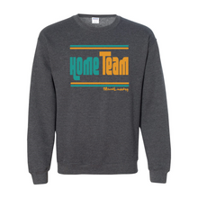 Load image into Gallery viewer, Home/ Away Team (Teal & Gold) | Crewneck Sweatshirt