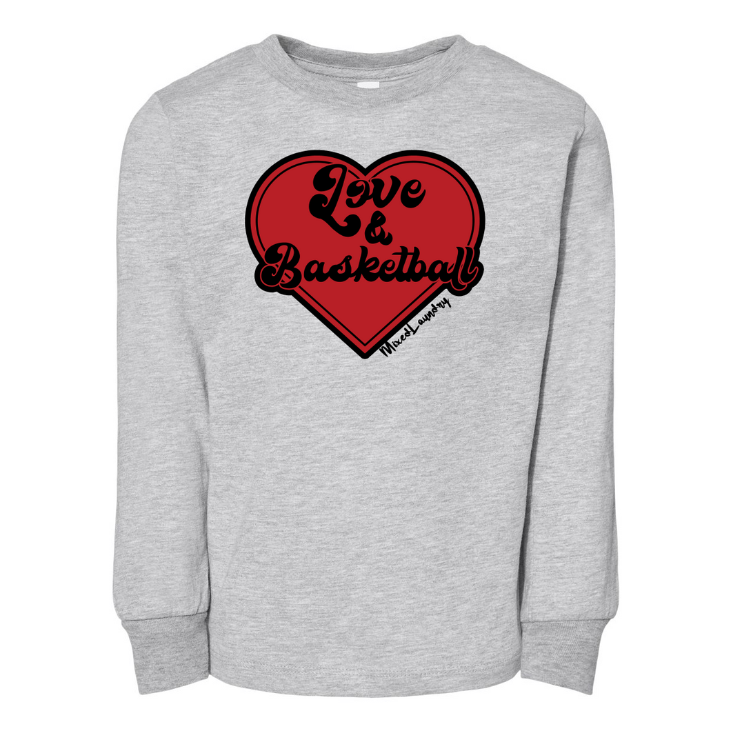 Love & Basketball | Toddler Long Sleeve Tee