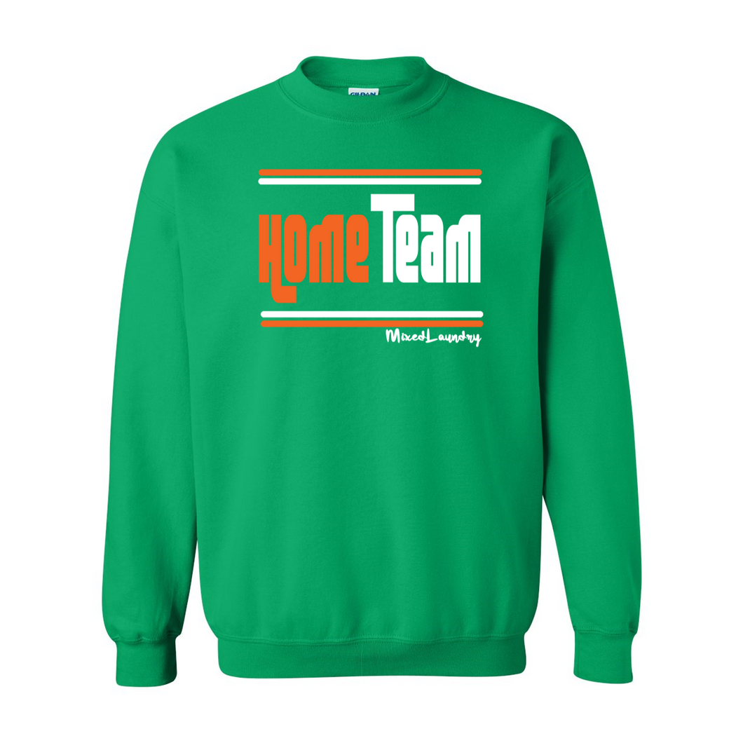 Home/ Away Team (Orange & White) | Crewneck Sweatshirt