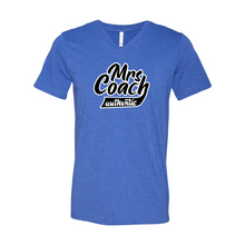 Load image into Gallery viewer, Mrs Coach authentic | Unisex Short Sleeve V-neck Tee