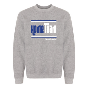 Home/ Away Team (Royal Blue & White) | Crewneck Sweatshirt