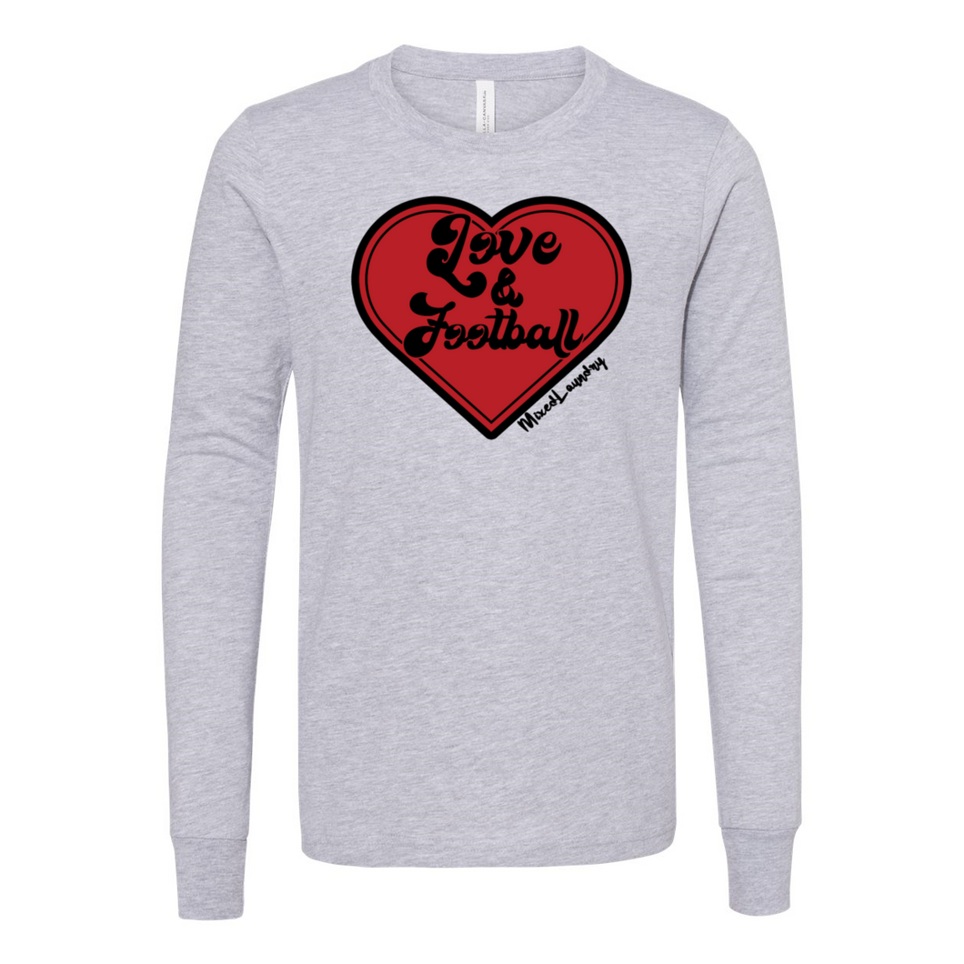 Love & Football | Youth Long Sleeve Tee
