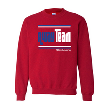Load image into Gallery viewer, Home/ Away Team (Royal Blue & White) | Crewneck Sweatshirt