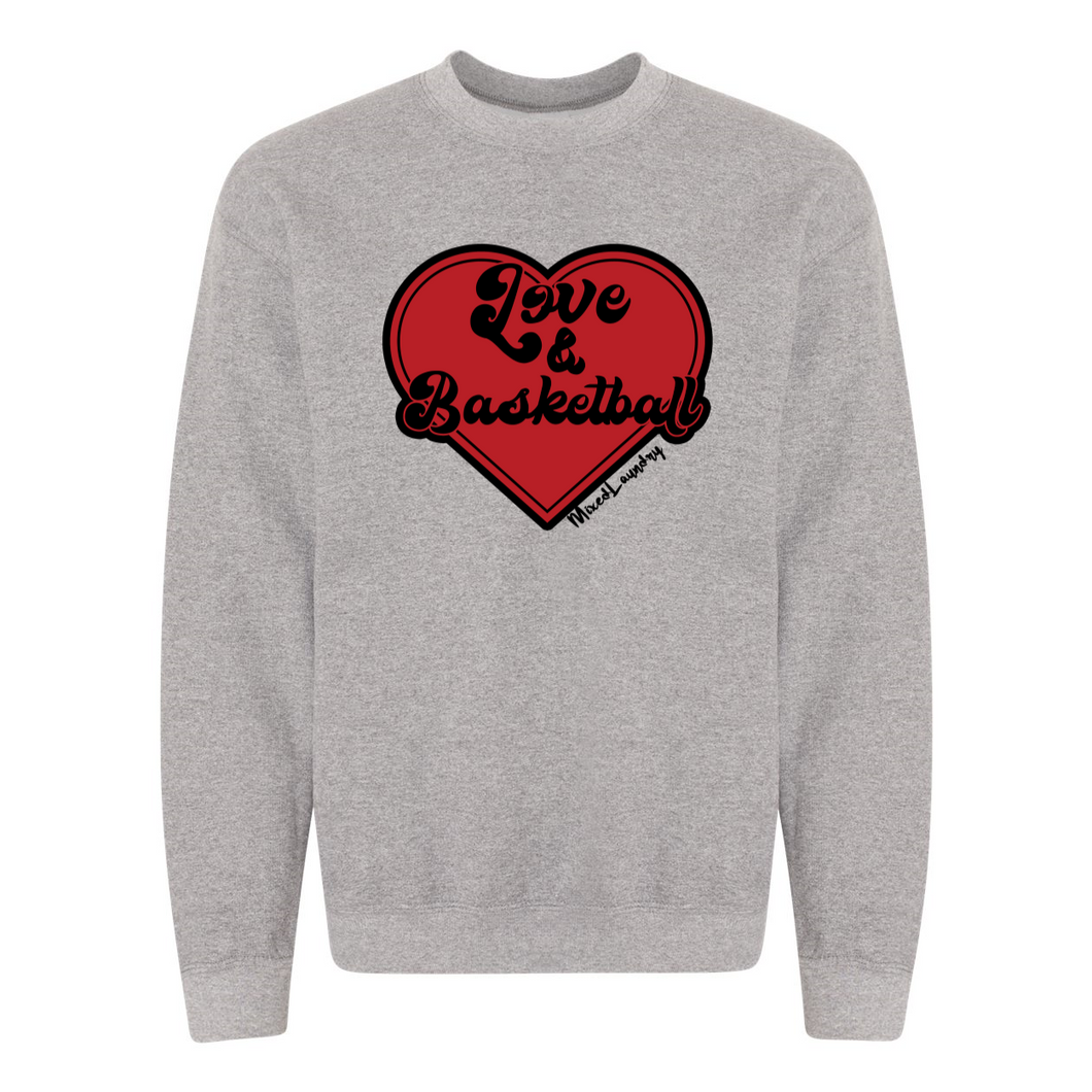 Love & Basketball | Adult Crewneck Sweatshirt