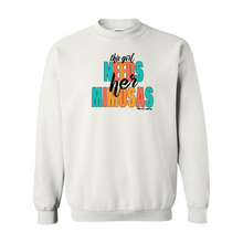 Load image into Gallery viewer, This Girl Needs Her Mimosas | Unisex Crewneck Sweatshirt