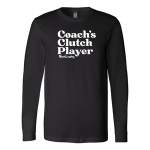 Coach's Clutch Player | Unisex Long Sleeve Tee