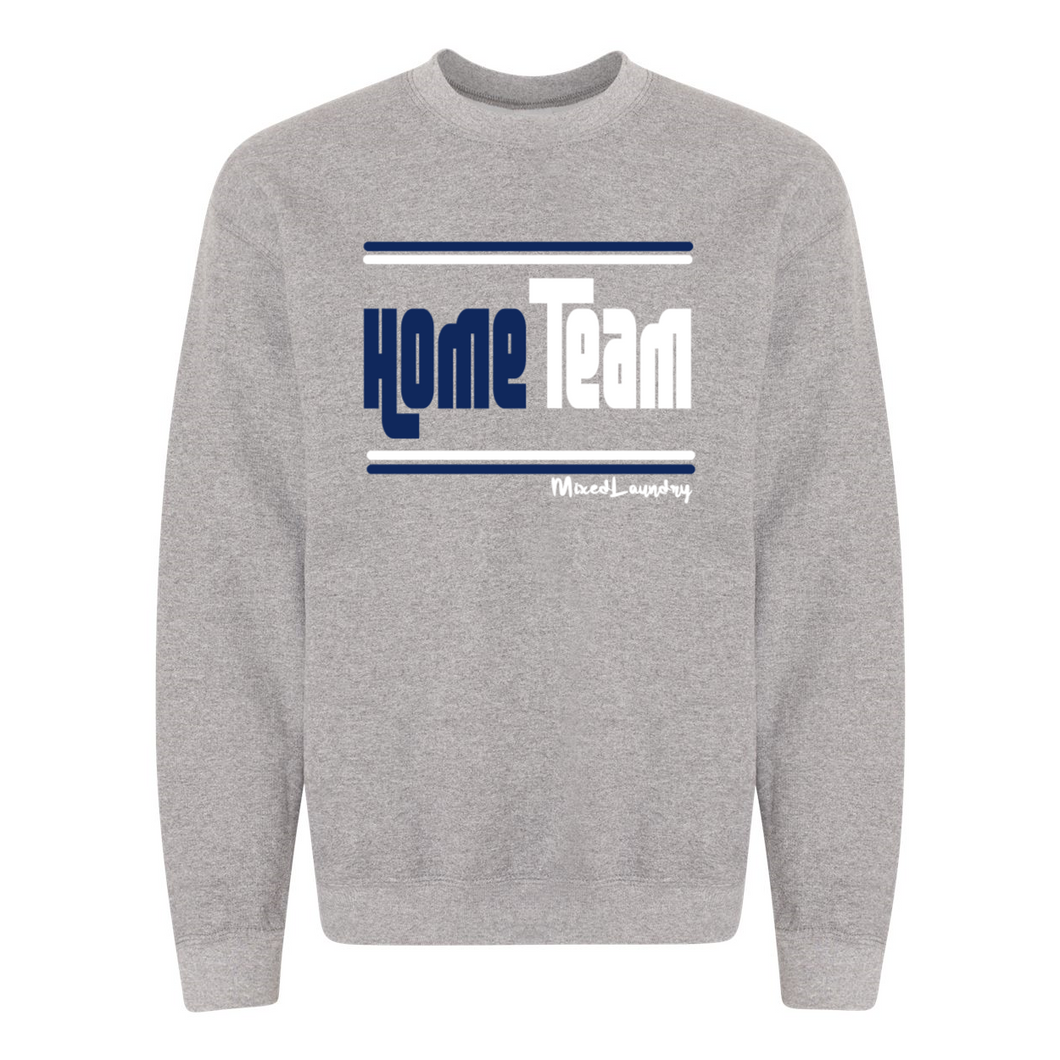 Home/ Away Team (Navy & White) |Crewneck Sweatshirt