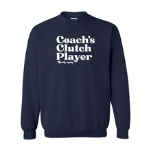 Load image into Gallery viewer, Coach's Clutch Player | Crewneck Sweatshirt