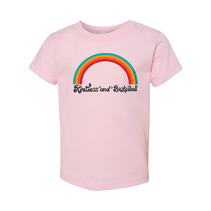 Kindness and Basketball Rainbow | Toddler Tee