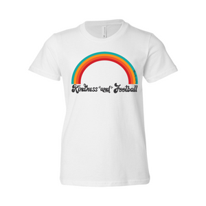 Kindness and Football Rainbow | Youth Tee