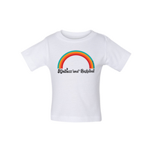Load image into Gallery viewer, Kindness and Basketball Rainbow | Baby Tee
