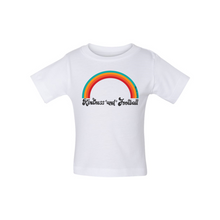 Load image into Gallery viewer, Kindness and Football Rainbow | Baby Tee
