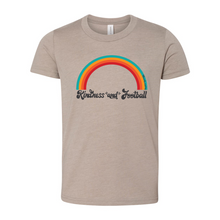 Load image into Gallery viewer, Kindness and Football Rainbow | Youth Tee