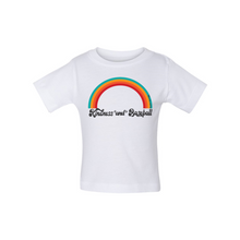 Load image into Gallery viewer, Kindness and Baseball Rainbow | Baby Tee